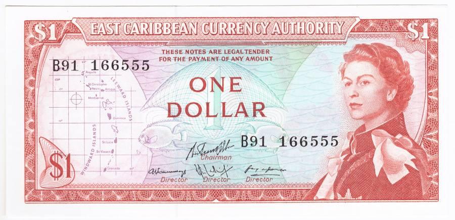 Anguilla, 1 Dollar (1965)