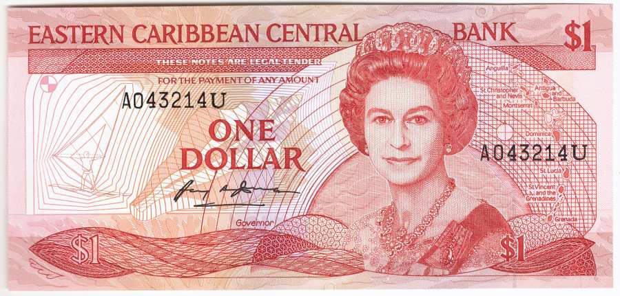Anguilla, 1 Dollar (1988 - 89)